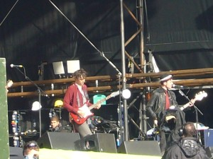 Babyshambles @Other Stage, Glastonbury 2007 - 1