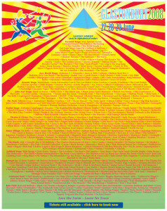 Glastonbury Festival Line-Up 2008