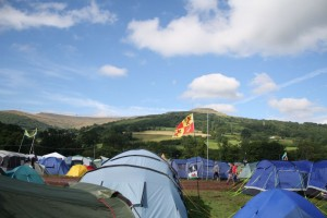 Green Man Festival 2012 - キャンプサイト