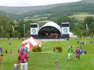 Green Man Festival 2012 - メインステージ