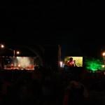 Green Man Festival 2013 – 夜のメインステージと像