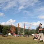Green Man Festival 2013 – Far Outから見た後ろの景色