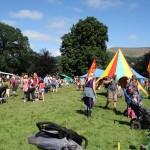 Green Man Festival 2013 – キッズ・エリアの風景