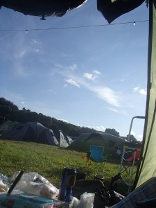 Green Man Festival 2014 - テントの中から