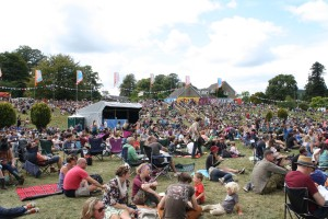 Green Man Festival 2014 - メインステージ後方