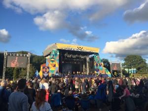 Green Man Festival 2015 - 嵐の後の青空