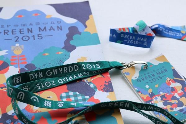 Green Man Festival 2015 - リストバンドとプログラム