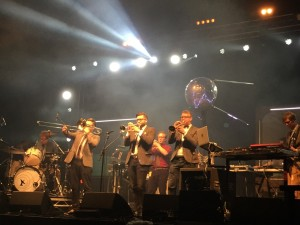 Green Man Festival 2015 - Public Service Broadcasting @Far Out Stage - 2