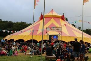 Green Man Festival 2015 - Far Outステージ