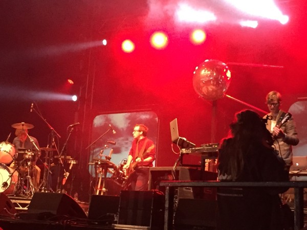 Green Man Festival 2015 - Public Service Broadcasting @Far Out Stage - 1