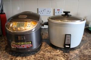我が家の炊飯器、新旧比較
