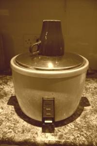 我が家の炊飯機(旧)