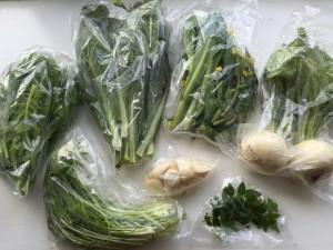 イギリスで取れる日本の野菜