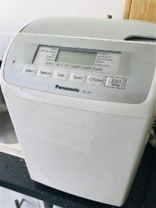 我が家のパン焼き機